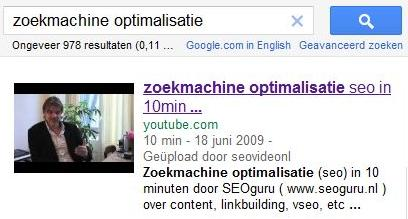 Video zoekmachine optimalisatie door SEOguru/Pelicula