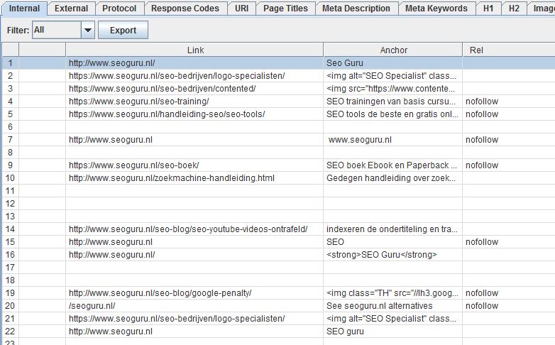 Backlinks met link-attributen